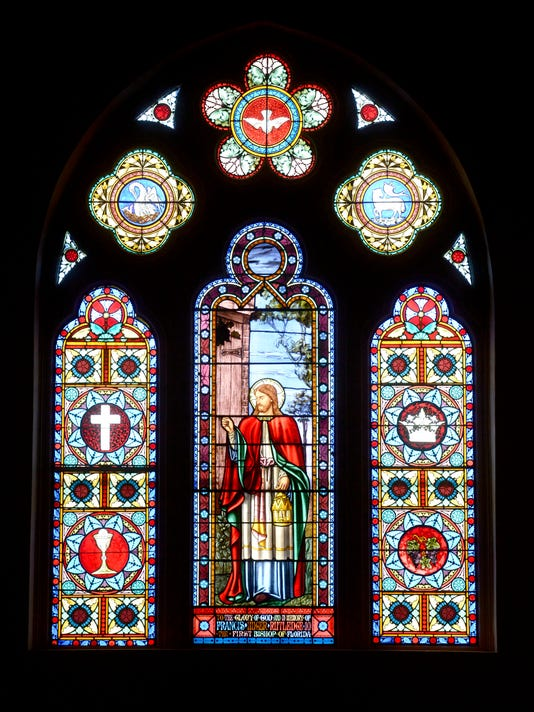 Christ Church tells story of Christ through historic stained glass windows