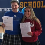 Marian, ASH, DCD seniors make college commitments
