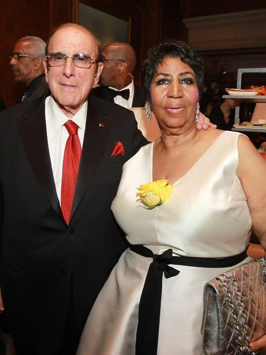 Clive Davis, Aretha Franklin