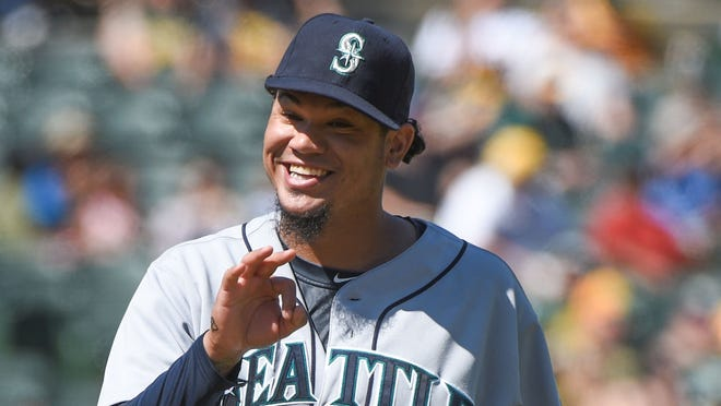 Felix Hernandez's ERA dropped from 2.34 to 2.18 going into his final start.