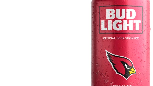 You can have your own Arizona Cardinals beer can.