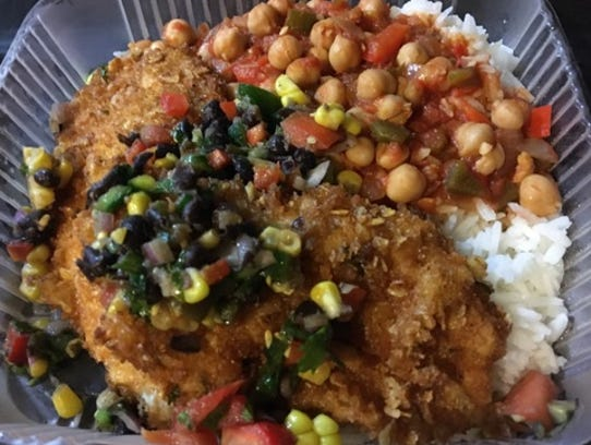 S&S Takeout's crispy chicken was a panko coated chicken