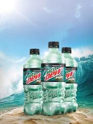 Mountain Dew comes in a Baja Blast version