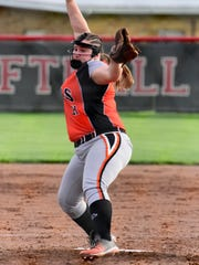 Gibsonburg senior Aubrey Fleming is a pitcher on the News-Messenger's softball team.