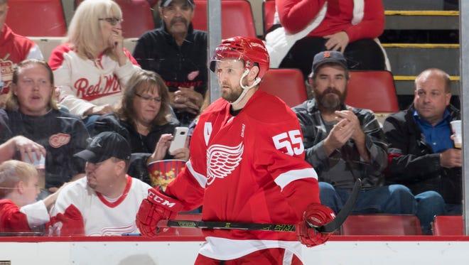 Detroit defenseman Niklas Kronwall