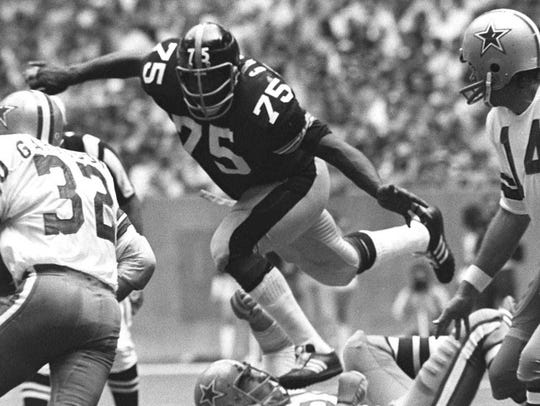 """""""Mean"""" Joe Greene was a six-time first-team All-Pro"""