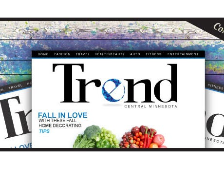 Trend Magazine is an entertainment publication focusing on the latest Trends in Central MN.