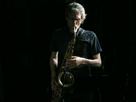 Ole Mathisen with IKONOSTASIS at the Rochester Jazz Festival.