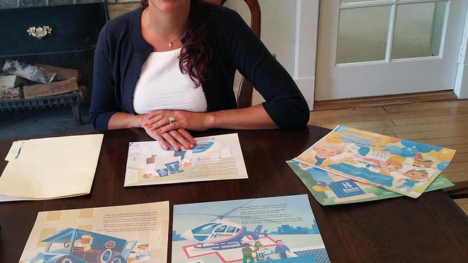 "Allison Myers, a former teacher and current Cape Henolpen school board member, is writing a children's book called ""Beebe's Big Birthday."""