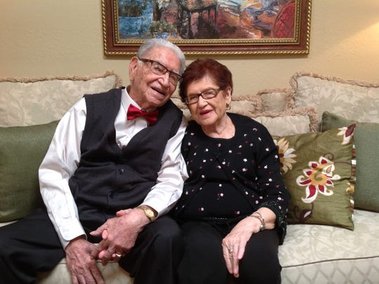 This year's winner of the Cutest Couple contest, submitted by Cynthia Medrano, are her grandparents, Luis and Socorro Lerma.