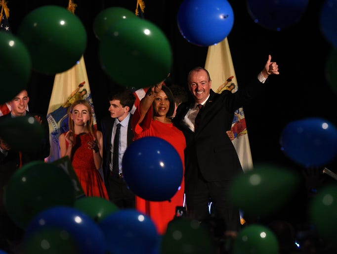 NJ gubernatorial candidate Phil Murphy and Lt. Governor