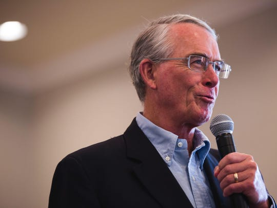 U.S. Rep. Francis Rooney, R-Naples, speaks recently in North Naples. He is a 2017 Person to Watch by The News-Press.