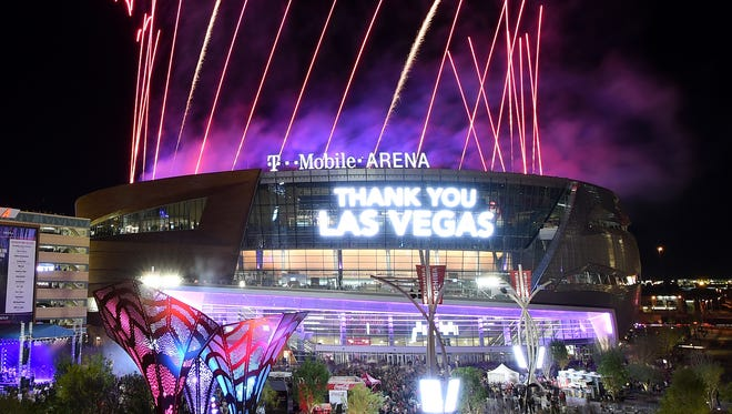 T-Mobile Arena will be the home of the NHL's newest team beginning in the 2017-18 season.