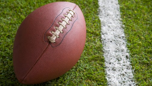A stock image of a football.