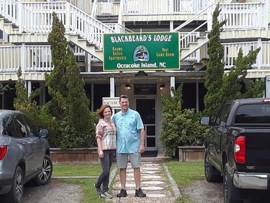 Chip Stevens and his wife, Helena, own Blackbeard's