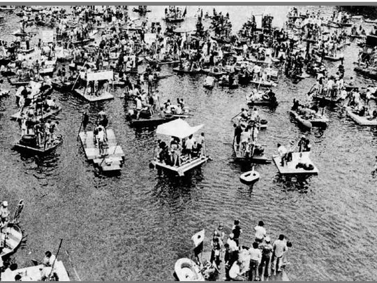 The last Yegatta Regatta was held in 1983.