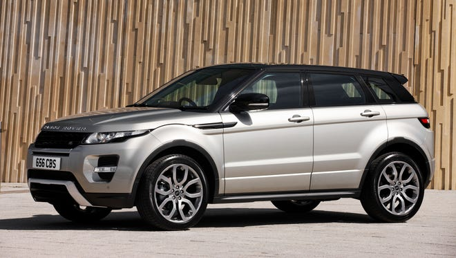 The 2015 Range Rover Evoque starts with a base price just north of $41,000.