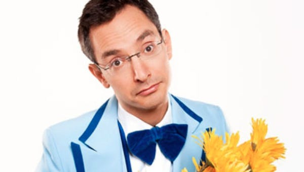 Comedian Myq Kaplan takes center stage 9:30 p.m. Saturday, May 21, at Capitol City Theater.