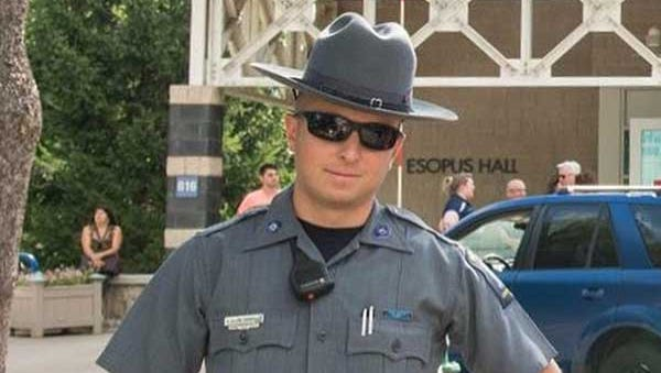 Carmel Police Officer Gary Pietropaolo Jr., 29, died when his motorcycle was hit by a postal truck on June 7, 2018.