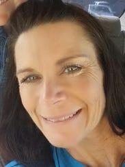 Swimming coach Tara Hardin