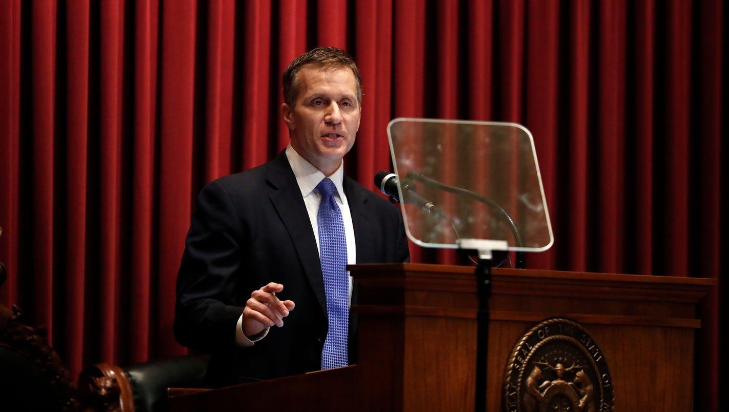 Missouri Gov. Eric Greitens admits to affair, denies blackmail