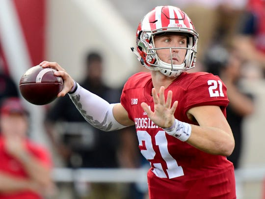 Richard Lagow threw 17 interceptions a year ago, a number IU coaches hope to trim in 2017.