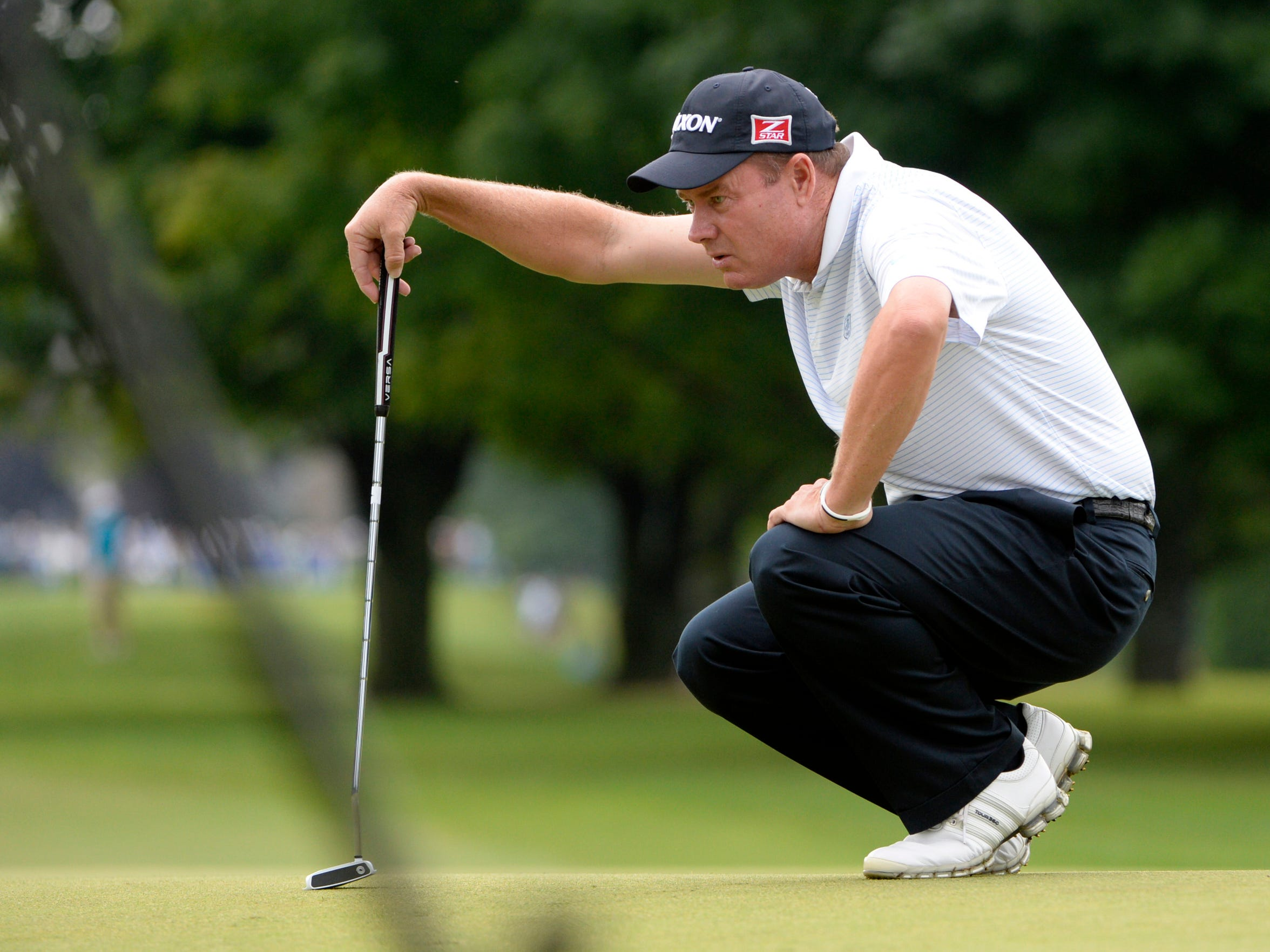Joe Durant recorded an ace in the final round of last