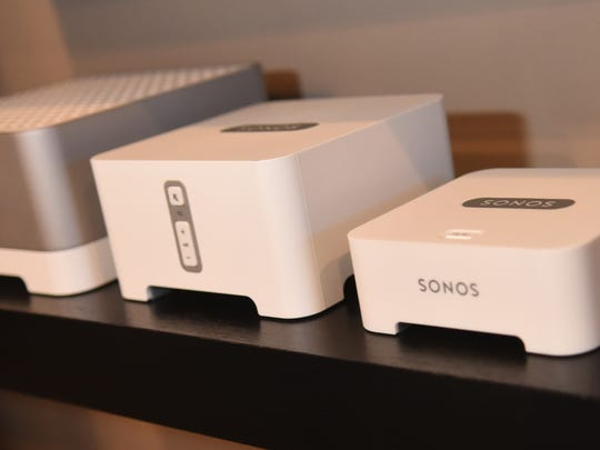Sonos control modules control the audio system of a