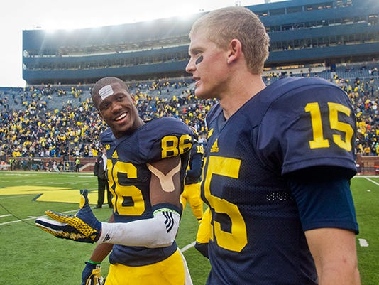 Jehu Chesson, Jake Rudock