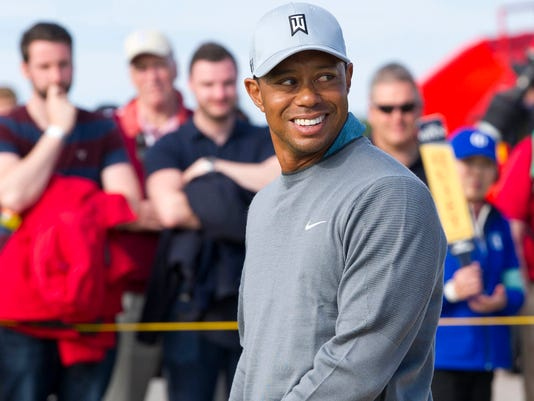 Tiger Woods shuts down retirement talk, looks to rise at Open Championship