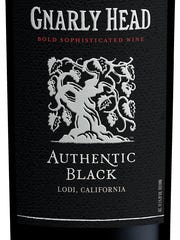 Gnarly Head Authentic Black is a petite sirah-based blend.