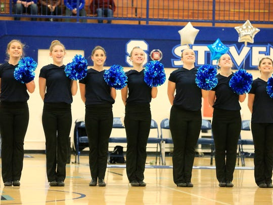 Livonia Stevenson qualified for the Class A Division 1 state finals after exceeding 80-percent proficiency in routines at regionals.