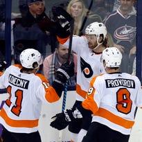 Flyers 5 takeaways: Konecny leading evolution in OT win