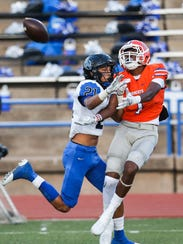 San Angelo Central High School wide receiver Jesse Scott made his plans official to play for Mary Hardin-Baylor.