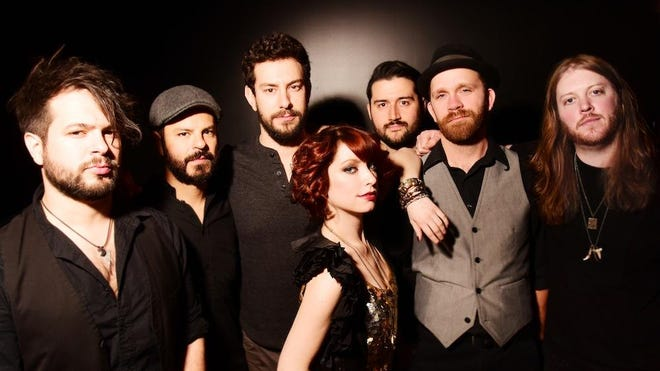 Sister Sparrow and the Dirty Birds are scheduled to perform at 7:30 p.m. Friday.