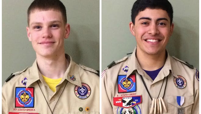 Anthony Warner, left, and Paul Campuzano II