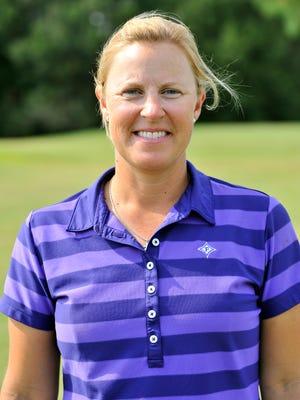 Kelley Hester, Furman women's golf team head coach on Wednesday, October 1, 2014.