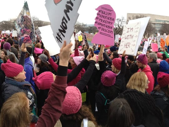 Thousands gather in Washington. D.C. on Saturday to