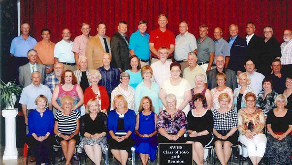 South Western High School Class of 1966 held its 50th