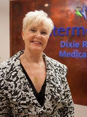 Terri Kane, Administrator/CEO of Dixie Regional Medical Center, at the River Road Campus Wednesday, Dec. 2, 2015.