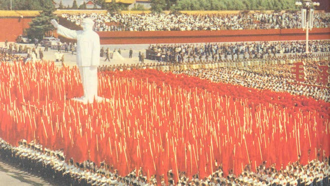 The personality cult of Mao helped fuel China's Cultural Revolution in 1966.