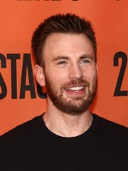 "Chris Evans attends the ""Lobby Hero"" Broadway press"