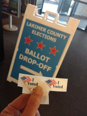 I dropped my 2016 Election ballot off last week.