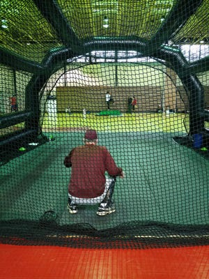 Scotland Campus baseball held a clinic on Dec. 28 and 29, with former and current professional baseball players serving as instructors.