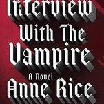 Book column Anne Rice book RFC book club Oct 8 2015