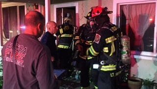 Firefighters saved six from a fire in Cocoa on Tuesday morning.