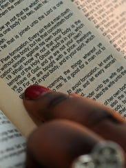 Kahmarae Eaton points to 1 Corinthians 6:19