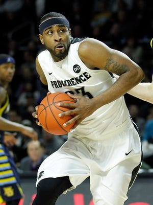 Eastern graduate LaDontae Henton became just the second player in Providence history to reach 2,000 points and 1,000 rebounds in a career.