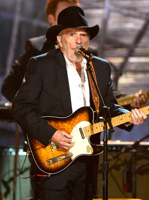 Country music legend Merle Haggard will perform today at the Saenger Theatre.