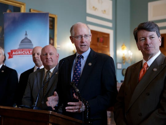 House Agriculture Committee Chairman Mike Conaway,